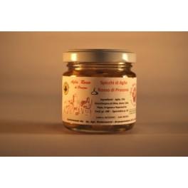 Spicchi d'aglio rosso di Proceno sottolio - La Treccia