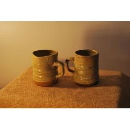 Tazza con manico in ceramica - P. Biancalana
