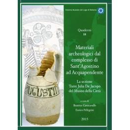 Materiali archeologici dal complesso di Sant'Agostino ad Acquapendente, libro - Si.Mu.La.Bo.