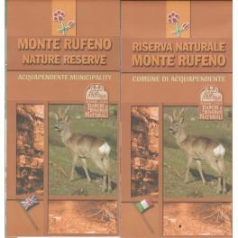 Mappa Riserva Naturale Monte Rufeno - ita - libro