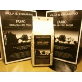 Farina di farro 1kg - Villa S. Ermanno