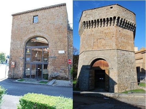 La Torre Julia de Jacopo vista arrivando dalla Cassia, venendo da Nord e da Sud